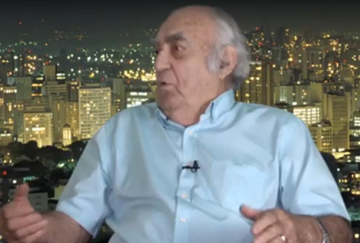 Luiz Geraldo Mazza fala sobre o trabalho no jornalismo aos 88 anos
