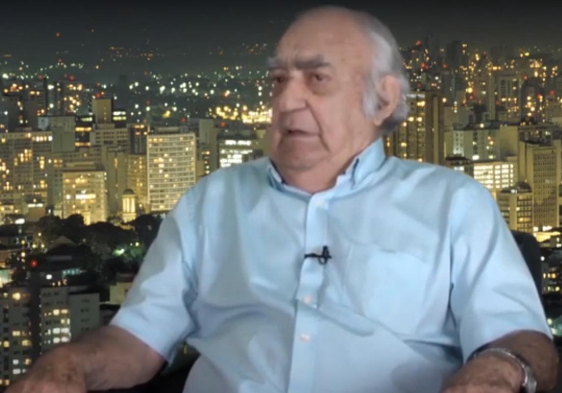 O jornalista Luiz Geraldo fala sobre o seu trabalho aos 89 anos