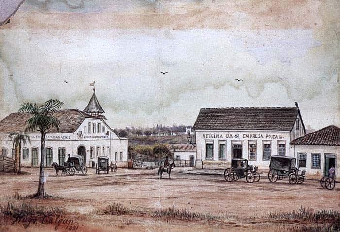 Como era o Paraná no século dezenove
