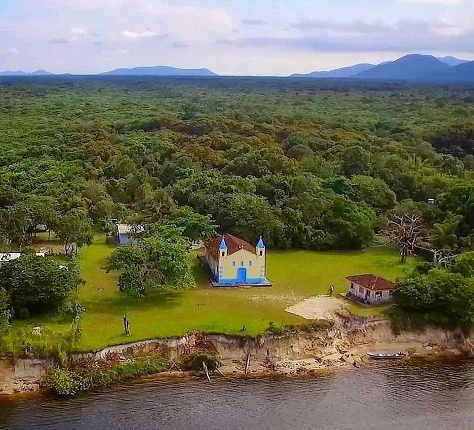 A cidade fantasma que foi criada pela monarquia no Litoral do Paraná