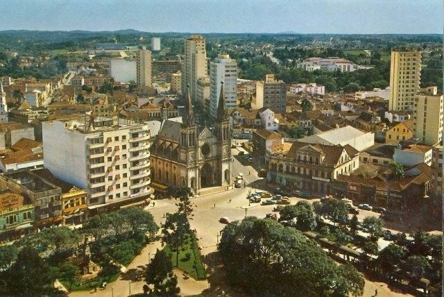 Curitiba dos anos 1950 em filmagens coloridas