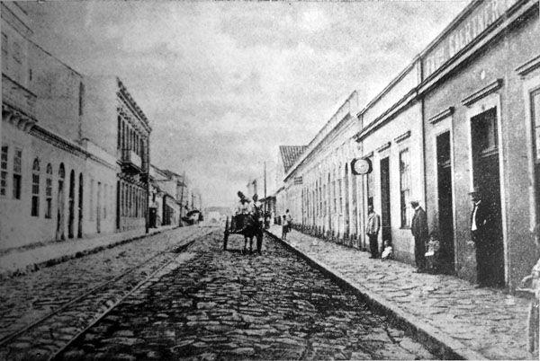 Como era Curitiba no ano 1900