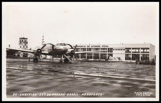 História do Aeroporto Affonso Pena de São José dos Pinhais, perto de Curitiba