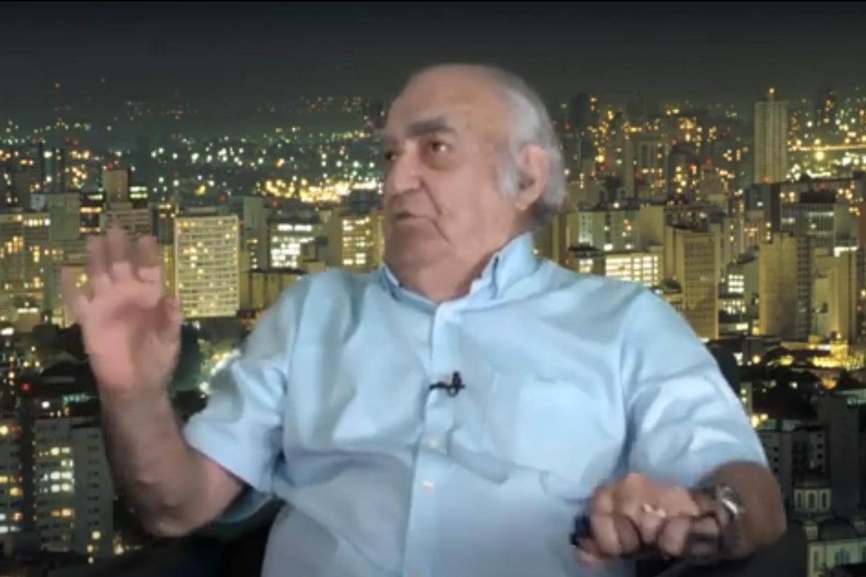 Luiz Geraldo Mazza entrevistado aos 89 anos sobre jornalismo